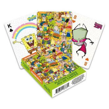 Nickelodeon jeu de cartes à jouer Cast