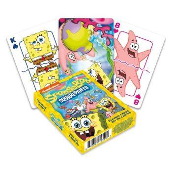 Bob l´éponge jeu de cartes à jouer Cast