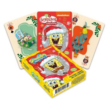 Bob l´éponge jeu de cartes à jouer Holidays