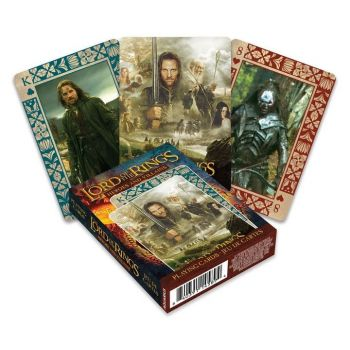 Le Seigneur des Anneaux jeu de cartes à jouer Heroes and Villains