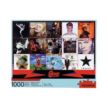 David Bowie puzzle Albums (1000 pièces)