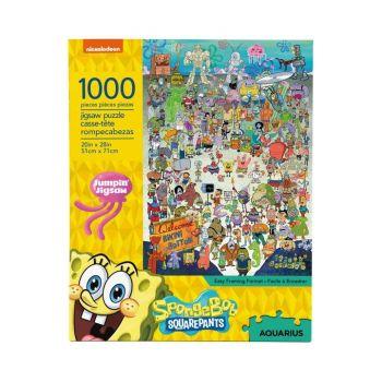 Bob l´éponge puzzle Cast (1000 pièces)
