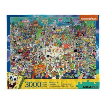 Bob l´éponge puzzle Bikini Bottom (3000 pièces)