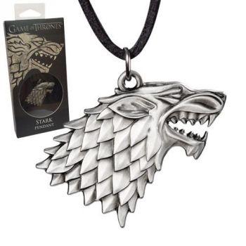 Le Trône de fer pendentif avec lanière Stark Sigil Costume
