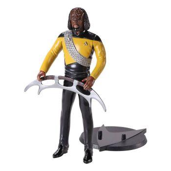 Star Trek: The Next Generation figurine flexible Bendyfigs Lt Worf 19 cm