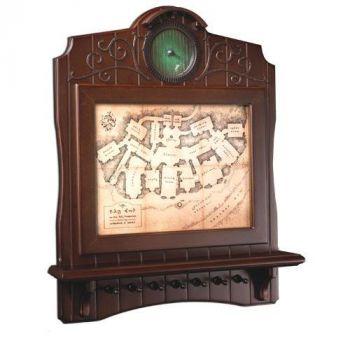 Le Hobbit présentoir mural pour 7 clés Carte de Bag End