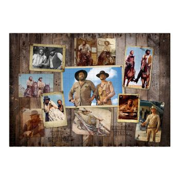 Bud Spencer & Terence Hill puzzle Western Photo Wall (1000 pièces)