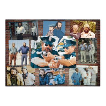 Bud Spencer & Terence Hill puzzle Poster Wall #002 (1000 pièces)