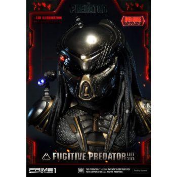 Predator 2018 buste 1/1 Fugitive Predator Deluxe Ver. 76 cm