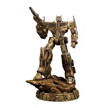 Transformers Generation 1 statuette Optimus Prime Gold Version 61 cm