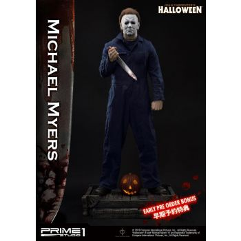 Halloween statuette 1/2 Michael Myers Bonus Version 107 cm