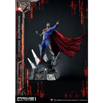DC Comics statuette 1/3 Cyborg Superman 93 cm