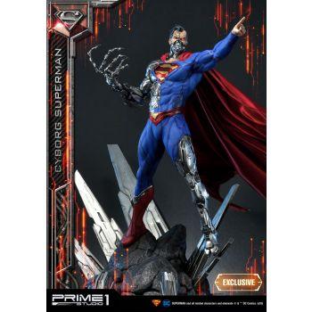 DC Comics assortiment statuettes 1/3 Cyborg Superman & Cyborg Superman Exclusive 93 cm (3)
