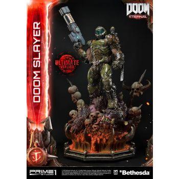 Doom Eternal statuette Doom Slayer Ultimate Version 110 cm