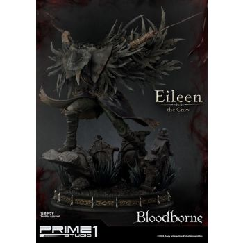 Bloodborne The Old Hunters statuette Eileen The Crow 70 cm