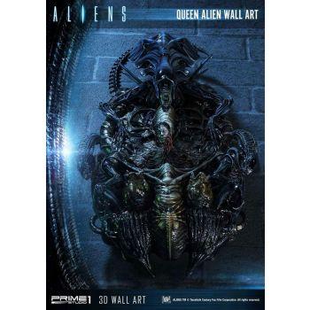 Aliens plaque murale 3D Queen Alien 33 x 57 cm