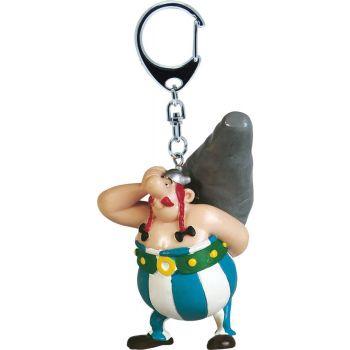 Asterix porte-clés Obelix Menhir 15 cm