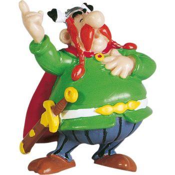 Astérix figurine Abraracourcix le chef 6 cm