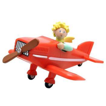 Le Petit Prince figurine Le Petit Prince dans son avion 7 cm