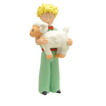 Le Petit Prince figurine Le Petit Prince et le mouton 7 cm