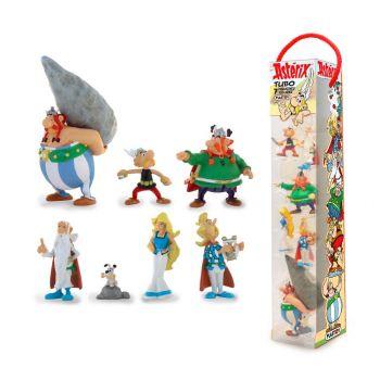 Astérix tubo 7 figurines Characters 4 - 10 cm