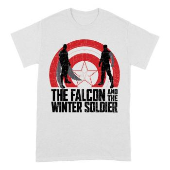 The Falcon and the Winter Soldier T-Shirt Shield Sillhouettes