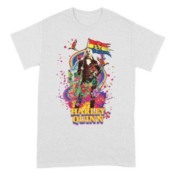 The Suicide Squad T-Shirt Flower Flag