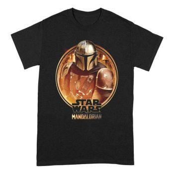 Star Wars The Mandalorian T-Shirt Framed