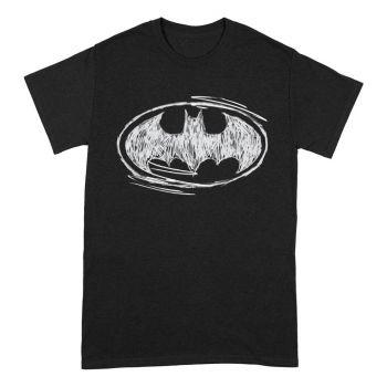 Batman T-Shirt Sketch Logo