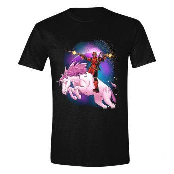 Deadpool T-Shirt Space Unicorn