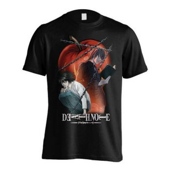 Death Note T-Shirt Ryuk Chained Notes
