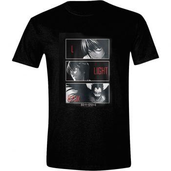 Death Note T-Shirt L, Light, Ryuk
