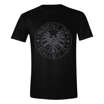 Avengers T-Shirt SHIELD Beaten Circle