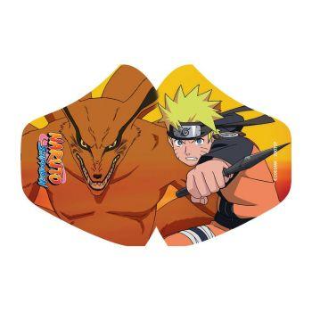 Naruto Masque en tissu Naruto & Kurama