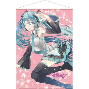 Hatsune Miku wallscroll Pink Glitter Miku 50 x 70 cm