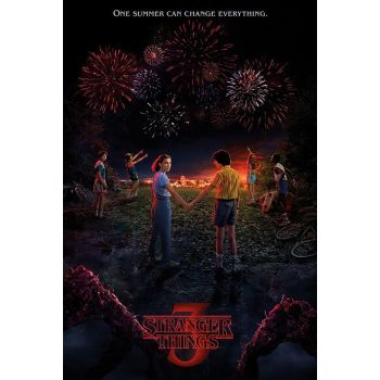 Stranger Things pack posters One Summer 61 x 91 cm (5)