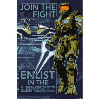 Halo Infinite posters Join the Fight 61 x 91 cm (5)