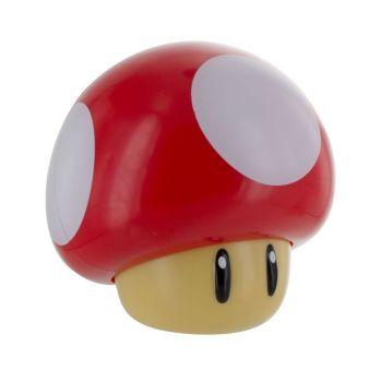 Super Mario veilleuse sonore Mushroom 12 cm