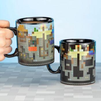 Minecraft mug effet thermique