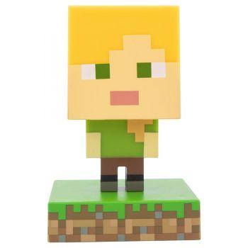 Minecraft veilleuse 3D Icon Alex
