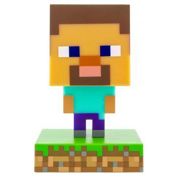 Minecraft veilleuse 3D Icon Steve
