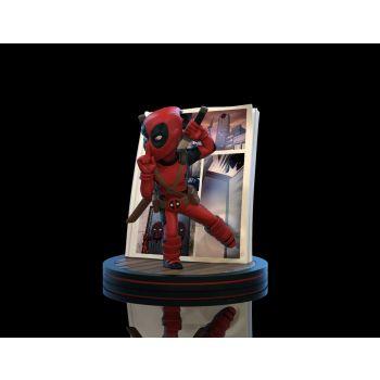 Marvel diorama Q-Fig Deadpool 4D 10 cm