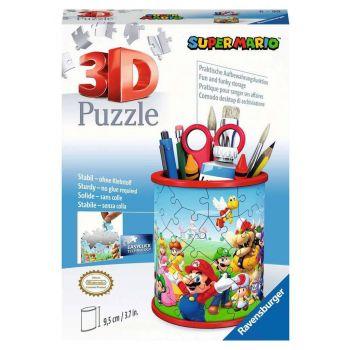 Super Mario puzzle 3D Pot à crayons (54 pièces)