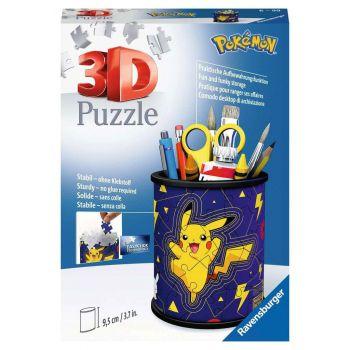 Pokémon puzzle 3D Pot à crayons (54 pièces)