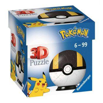 Pokémon puzzle 3D Pokéballs: Hyper Ball (54 pièces)