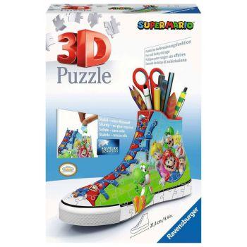 Super Mario puzzle 3D Sneaker (108 pièces)