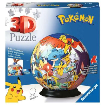 Pokémon puzzle 3D Ball (72 pièces)