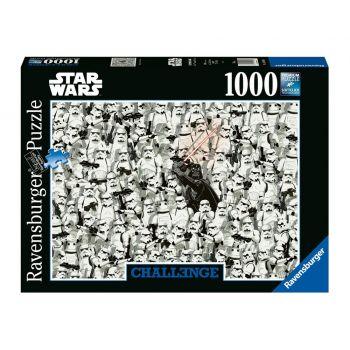 Star Wars Challenge puzzle Darth Vader & Stormtroopers (1000 pièces)