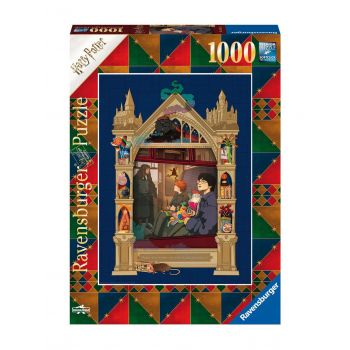 Harry Potter puzzle On The Way To Hogwarts (1000 pièces)