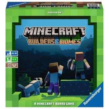 Minecraft jeu de plateau Builders & Biomes